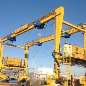 Rubber Tire Gantry Crane