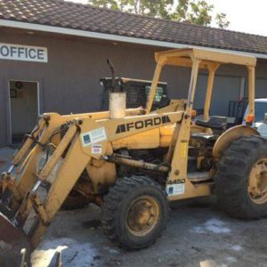 Ford 445D 4x4 Landscape Loader