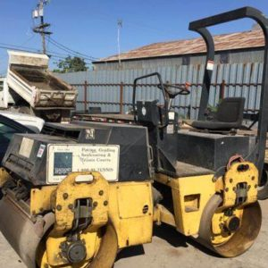 Bomag BW120AD-3 Vibratory Double Drum Roller