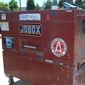 Lot of (2) Jobox Tool Boxes