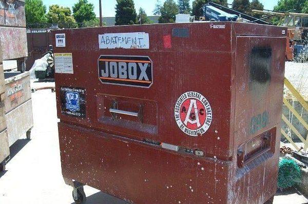 Lot of (2) Jobox Tool Boxes