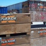 Lot of (4) Knaack Tool Boxes