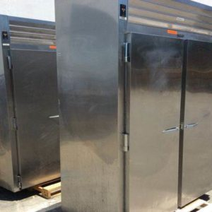 Lot of (2) Traulsen RRI232LUT-FHS Industrial Refrigerators