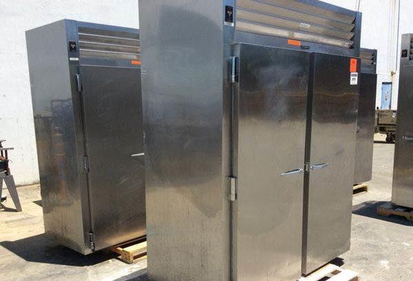 Lot of (2) Traulsen RRI232LUT-FHS Industrial Refrigerators