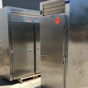 Lot of (2) Traulsen Industrial Refrigerators