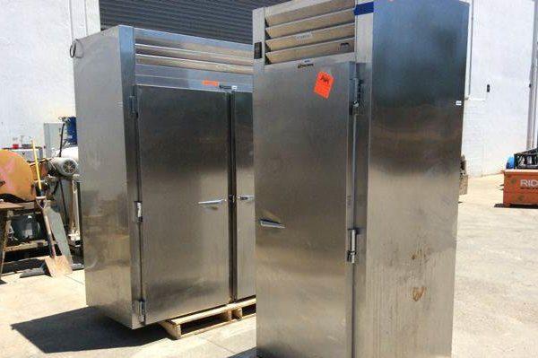 Lot of (2) Traulsen Industrial Refrigerators
